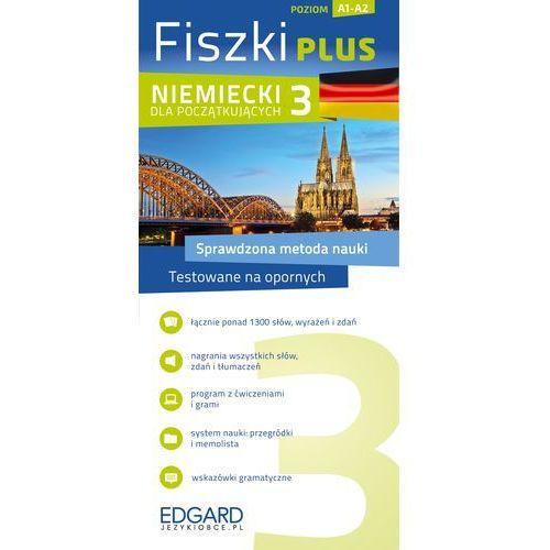 Niemiecki Fiszki PLUS dla początkujących 3, oprawa kartonowa