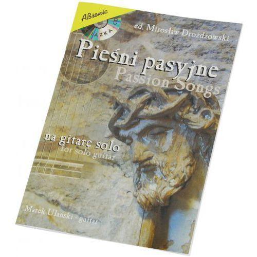 An marek ulański ″pieśni pasyjne na gitarę solo″ książka + cd, ed. mirosław drożdżowski