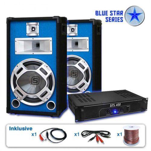 "Electronic-Star PA Set Blue Star Series ""Starter"" 1200 W"