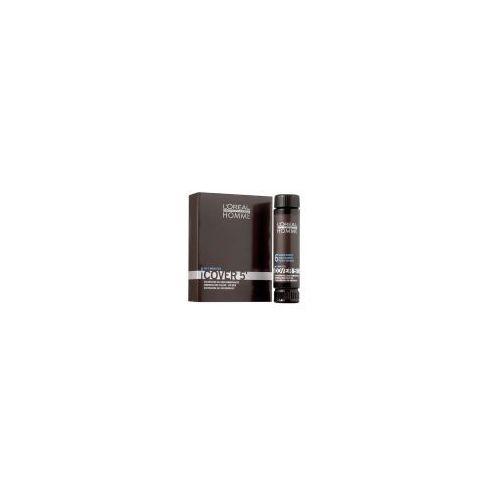 Loreal Homme Cover 5', żel do koloryzacji włosów dla mężczyzn, 3x50ml