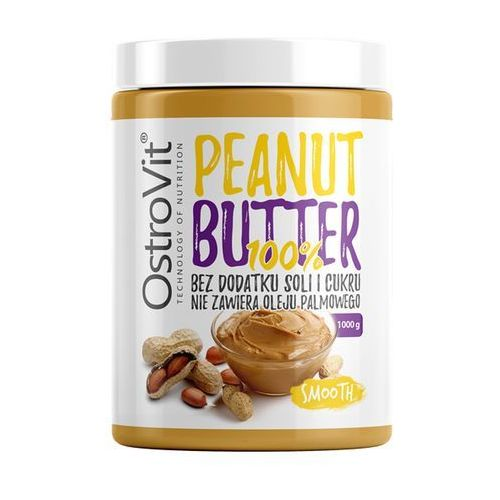 Ostrovit nutvit 100% peanut butter 1000 g smooth (5902232613766)