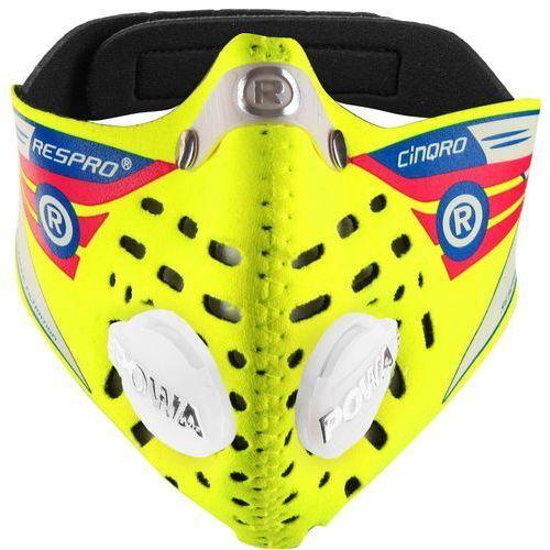 Respro Maska antysmogowa cinqro żółty xl + zamów z dostawą jutro! + darmowy transport!