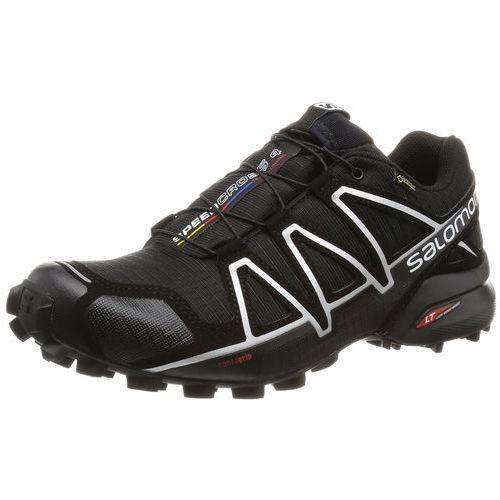 Buty do biegania w terenie Salomon Speedcross 4 GTX dla mężczyzn, kolor: czarny (Black/Black/Silver Metallic-X), rozmiar: 46 EU (0889645080703)