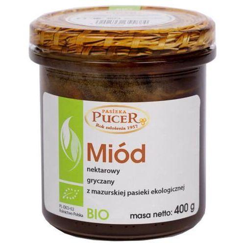 Pucer Miód nektarowy gryczany 400g - ekologiczny