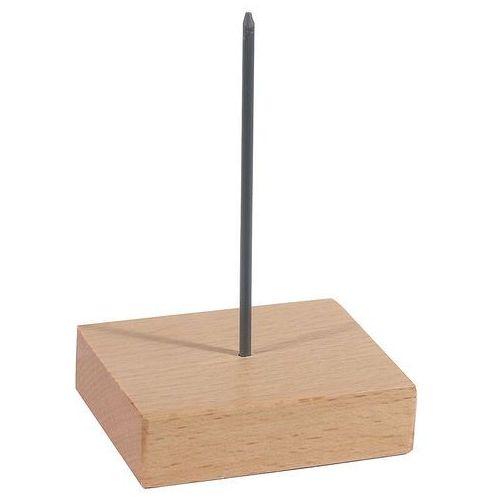 Szpikulec do bonowania na drewnianej podstawie 70x60x110 mm | , 1041/001 marki Contacto