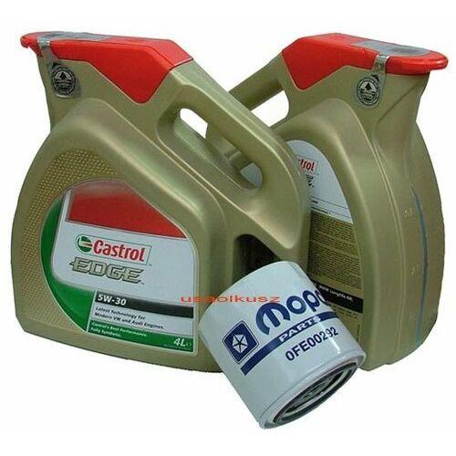 Castrol Filtr + olej edge 5w30 dodge magnum 5,7 hemi