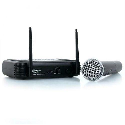 stwm711 vhf-bezprzewodowy system + mikrofon do ręki marki Skytec