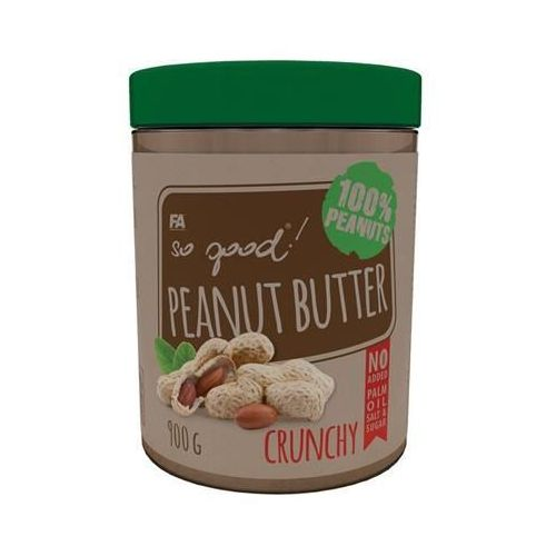 FITNESS AUTHORITY So Good Peanut Butter - 900g - Crunchy