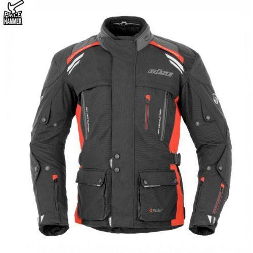 Buse kurtka motocyklowa highland czarno-czerwona marki Büse