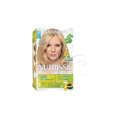 Nutrisse Creme Farba do włosów 101 Bardzo Jasny Beżowy Blond, Garnier