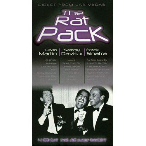 THE RAT PACK - Direct from Las Vegas (4CD) (4011222220486)