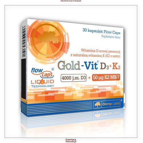 Olimp Gold-Vit D3+K2 30 kaps. (5901330053191)