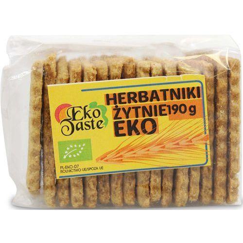 Tast: herbatniki wegańskie żytnie BIO - 190 g (5906961497161)