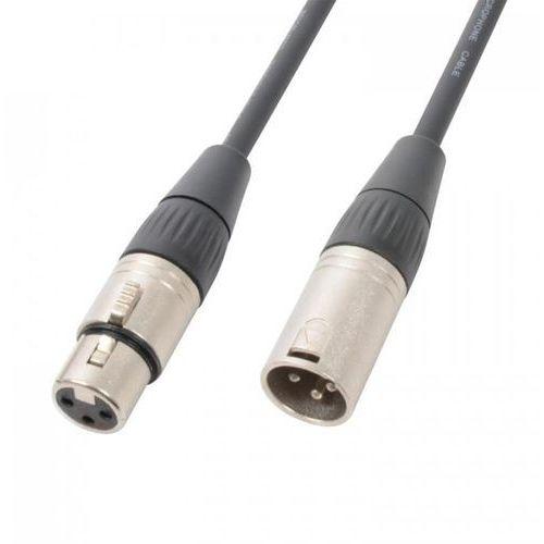3-pinowy kabel dmx wtyki xlr męski-żeński 120 Ω 12m marki Pd connex