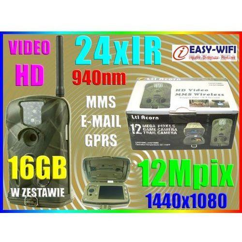 KAMERA LEŚNA NA ZEWNĄTRZ IR IP54 HD 24h MMS +16GB - sprawdź w Sklep Szpiegowski