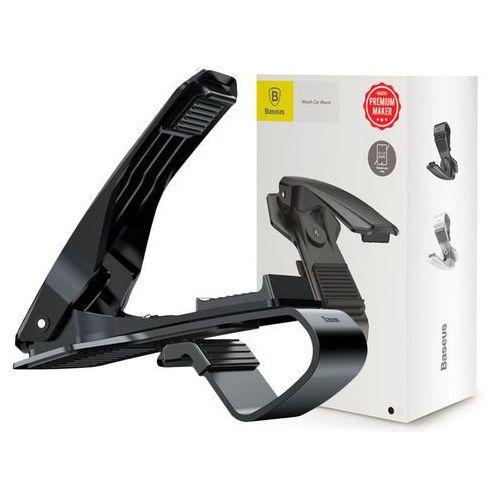 Uchwyt samochodowy Baseus na deskę rozdzielczą klips czarny, 40797 (10503374)