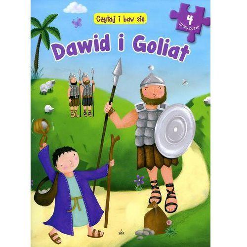 Czytaj i baw się Dawid i Goliat - 35% rabatu na drugą książkę!, oprawa twarda