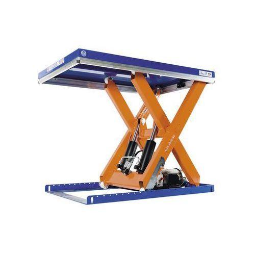 Kompaktowy stół podnośny,udźwig 4000 kg