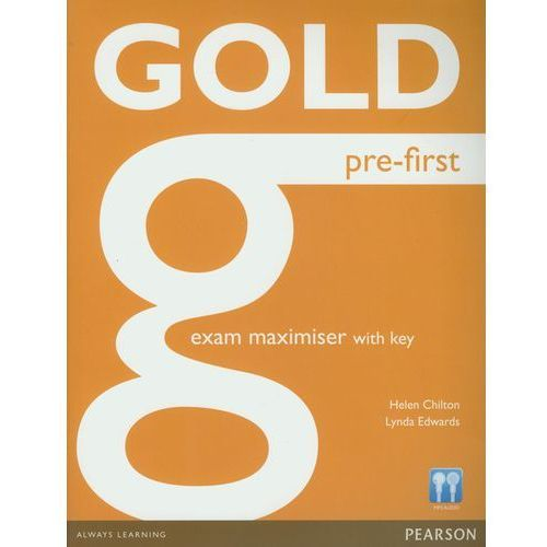 Gold Pre-First Exam Maximiser With Key, Pearson