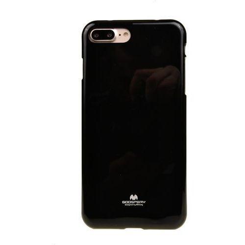 Mercury Etui nakładka goospery jelly case do apple iphone 7 plus / iphone 8 plus czarny - czarny