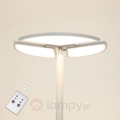 Lampenwelt Aurela – lampa stojąca led z obracanymi elementami