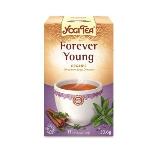 YOGI TEA 17x1,8g Herbata forever young Bio