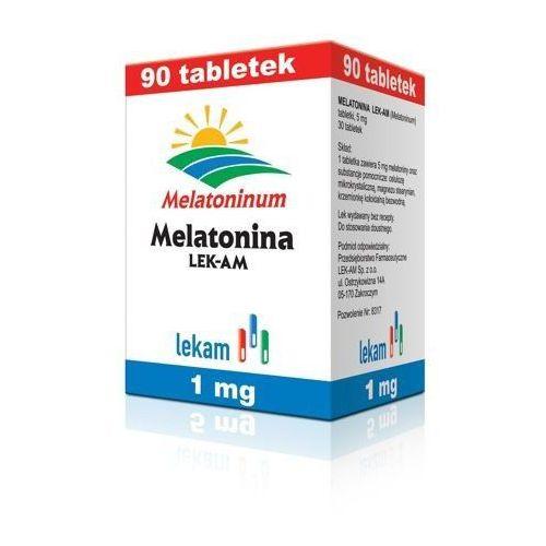 Tabletki MELATONINA 1mg x 90 tabletek