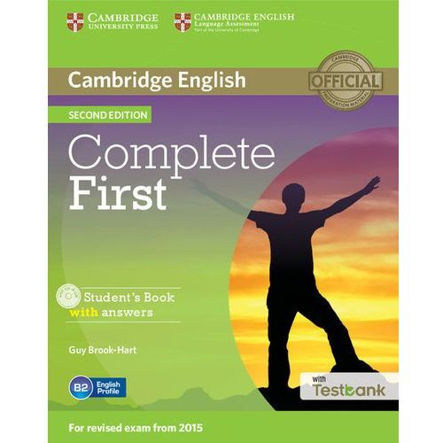 Complete First Student's Book with Answers with CD-ROM with (9781107501805)