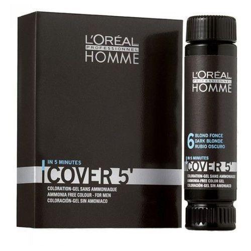 Loreal Homme Cover 5` Żel do koloryzacji 3x50ml NO5, 5834_20160516110300