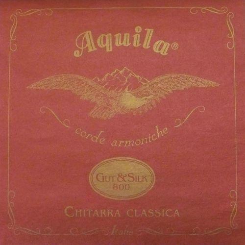 gut & silk 800 ″ struny do gitary klasycznej marki Aquila