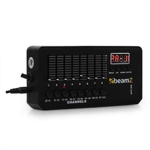 Beamz DMX-512 Mini kontroler DMX z baterią i XLR (8715693258868)