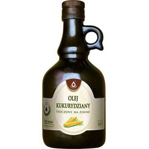 Olej kukurydziany tłoczony na zimno 500ml