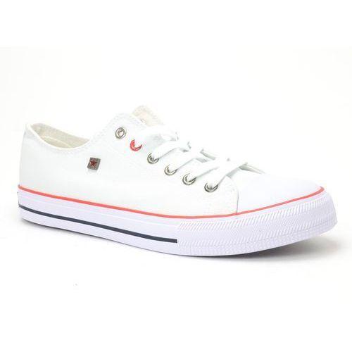 Trampki BIG STAR T174102 biały, kolor biały