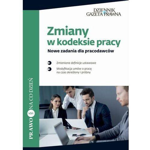 Zmiany w kodeksie pracy Nowe zadania dla pracodawców - Karolina Topolska - ebook
