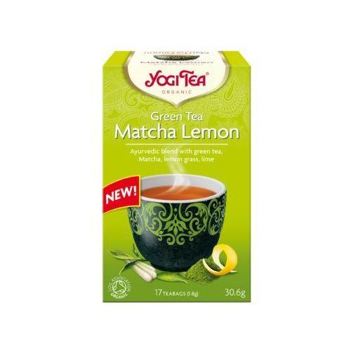 Herbatka zielona z cytryną i matchą bio (17 x 1,8 g) - yogi tea marki Yogi tea (herbatki)