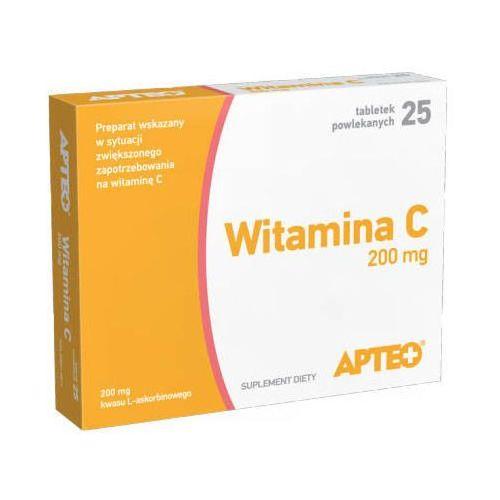 Tabletki APTEO WITAMINA C 200mg x 25 tabletek