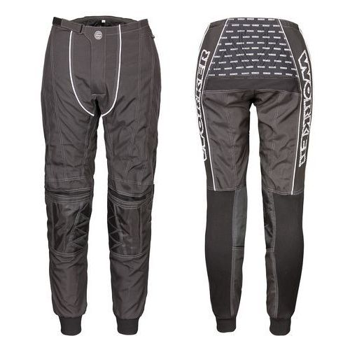 Spodnie Motocross WORKER Razzor Junior, Czarny, Junior L (9 - 10 lat) (8595153627010)