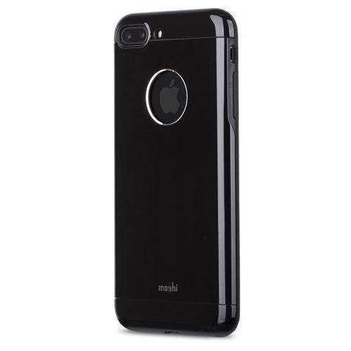 Moshi Armour - Etui aluminiowe iPhone 7 Plus (Jet Black), kolor Moshi