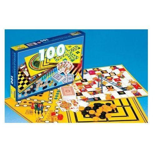 zestaw 100 gier marki Piatnik