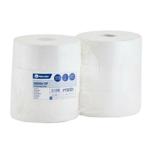 Papier toaletowy top, 2 warstwy, celuloza - 6 rolek marki Merida