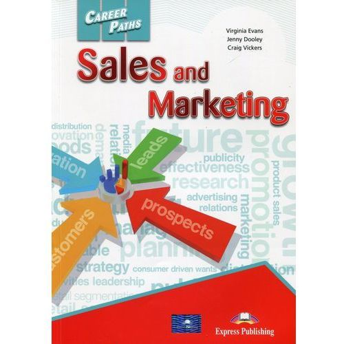 Career Paths Sales and Marketing SB - Jenny Dooley, Virginia Evans (121 str.)
