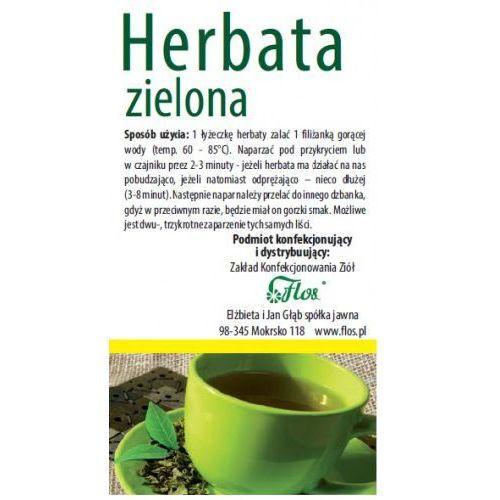 Flos Herbata zielona 100g (5906365702441)