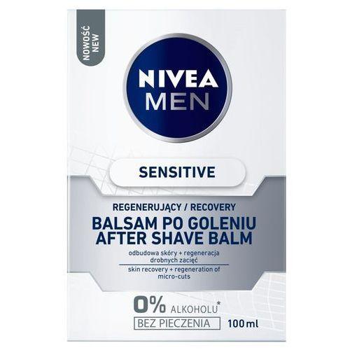 Nivea men sensitive recovery, 100 ml. balsam po goleniu - nivea darmowa dostawa kiosk ruchu (5900017060392)