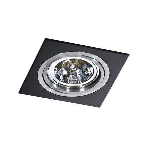 Oprawa do wbudowania SIRO 1 BLACK GM2101 BK/ALU - Azzardo - Autoryzowany dystrybutor AZzardo (5901238407690)