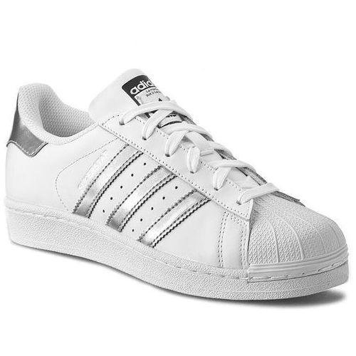 Buty adidas - Superstar AQ3091 Ftwwht/Silvmt/Cblack, kolor biały