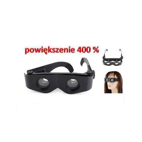 3w1!! okulary/lornetka/lupa powiększająca 4x. marki Vg
