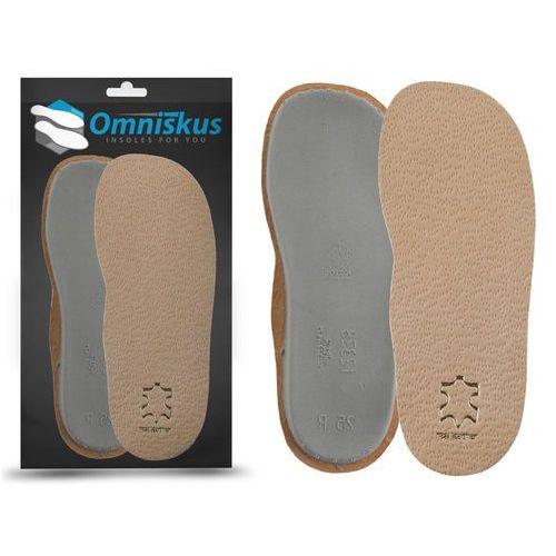 Profilaktyczne wkładki do butów dziecięcych zapobiegające płaskostopiu wzdłużnemu