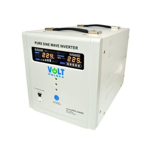 sinuspro-3000e przetwornica samochodowa 2100w/3000w 48v/230v z pełną sinusoidą oraz funkcją ups i prostownika marki Volt