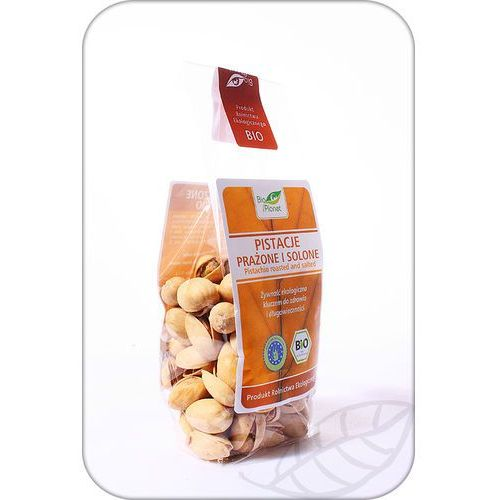 : pistacje prażone i solone bio - 100 g marki Bio planet