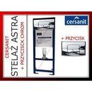 Produkt z kategorii- stelaże i zestawy podtynkowe - Stelaż Podtynkowy ASTRA CERSANIT z Przyciskiem Chrom